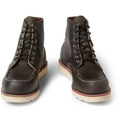Red Wing Shoes Rubber-Soled Leather Boots | MR PORTER