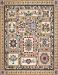 Roberts Floral Garden, a beautiful sampler designed by quilt artist Robert Callaham. Block-by-block instructions guide you through the successful completion of all thirteen blocks.
