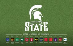 2012 Spartan Football Schedule