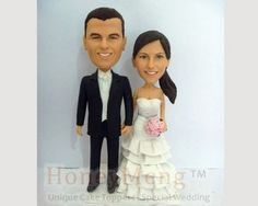 Custom Cake Toppers head to toe personalized cake topper made from photo-1676 $169