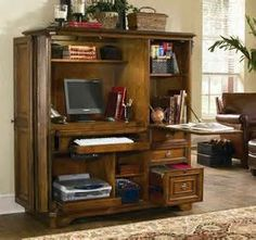 Lowest Price Online On All Hooker Furniture Brookhaven Computer Cabinet In  Clear Cherry