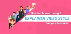 How to Choose the Right Explainer Video Style for Your Business Marketing Software, Internet Marketing, Money Machine, 3d Video, Business Stories, Lazy People, Choose The Right, It Gets Better, Call To Action