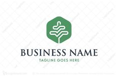Logo for sale: Tree Pathway Logo Geometrical tree logo showing growth towards success. Suitable for business fund related company. success Growth investment money capital accountant accounting financial bookkeeping grow landscaping bank banking logo logos