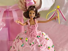 how to make a Fairy Tale Princess Cake