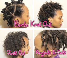 Black kids hairstyles: Family Hair Care – Transitioning Bantu Knots And K. Black Kids Hairstyles, Natural Hairstyles For Kids, Natural Hair Tips, Natural Hair Styles, Bantu Knot Out, Short Hair Undercut, Undercut Hairstyles, Easy Hairstyles, Relaxed Hairstyles