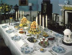 Century Table Setting – The Edible Eighteenth Century Table Etiquette, Table D Hote, Formal Dinner, Centerpieces, Table Decorations, Exotic Food, Fall Table, High Tea, Dinner Table