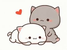 The perfect Peachcat Kiss Cuddle Animated GIF for your conversation. Discover and Share the best GIFs on Tenor. Cute Love Pictures, Cute Love Gif, Cute Cat Gif, Cute Images, Cute Cats, Chibi Cat, Cute Chibi, Cute Cartoon Pictures, Cartoon Pics