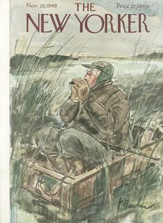 The New Yorker - Saturday, November 20, 1948 - Issue # 1240 - Vol. 24 - N° 39 - Cover by : Perry Barlow