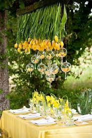 tulips and glass baubles