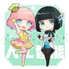 Kamen Rider Ex Aid, Kamen Rider Series, Wallpaper Naruto Shippuden, Robot Girl, Kawaii Anime, Chibi, Drawings, Cute, Cosplay