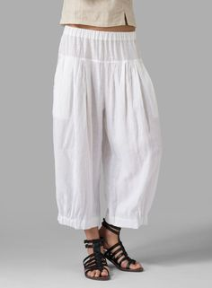 Lounge in style with this soft linen fabrication which drapes over the contours of the body to a loose,straight relaxed fit. (Plus size available) Linen Pants Outfit, Linen Trousers, Miss Me Outfits, Cool Outfits, Plus Clothing, Size Clothing, Comfy Pants, Leggings Are Not Pants, Hippie Style