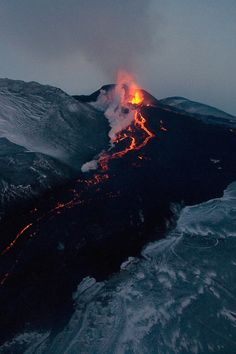 Mavro Giganta (Black Giant). One of the most active volcanoes, partially feeds into River Styx.