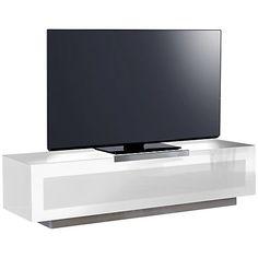 Stil Stand 4001 White High Gloss 1 Drawer Tv Top Unit Living Room Living Room Room Drawers