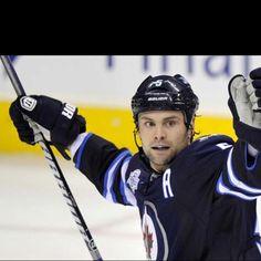I love this Winnipeg Jet. Mark Stuart is handsome