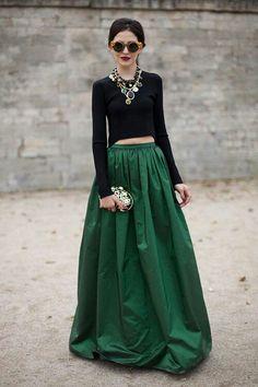 Full skirt maxi - fashion fearless find more women fashion ideas on www.misspool.com