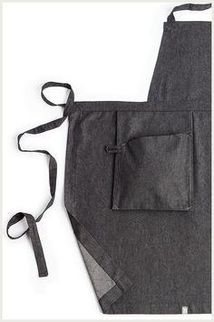 Shannon Reed - Designer Bib Apron - Hanging Pocket
