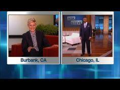 TV BREAKING NEWS Ellen in Steve Harvey's Ear - http://tvnews.me/ellen-in-steve-harveys-ear/