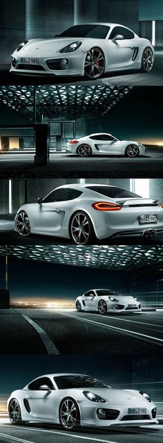 Porsche Cayman Coupe Premium by TechArt