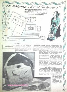 How to Make a Hobo Bag - Sewing Method Vintage Diy, Vintage Bags, Vintage Handbags, Easy Sewing Projects, Sewing Tutorials, Sewing Hacks, Free Sewing, Vintage Sewing Patterns, Journal Vintage