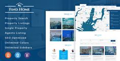 Download Nulled Findhome  Real Estate HTML Template For Free