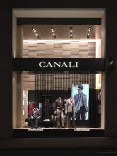 London, ném đi xe một cửa hàng kinh điển xây dựng Canali hiện đại bởi GRASSICORREA [Thời trang nội thất, Trang trí nội thất cửa hàng]: blog Naver