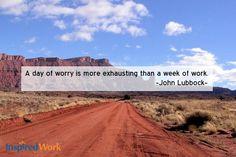 InspiredWork quote by John Lubbock