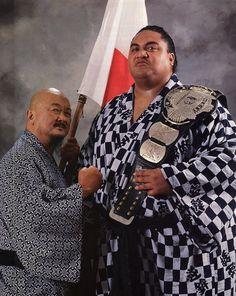 WWF Champion - Yokozuna w/Mr. Fuji