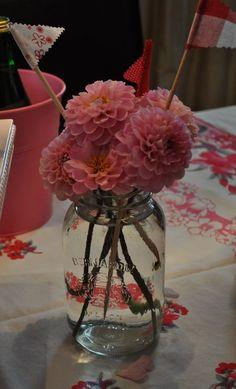 masor jar flower decor