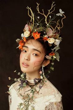 A collection of Mori Girl ( 森ガール) themed and inspired images: monmonmori… – Frauen Haar Modelle Mori Girl, Art Inspo, Kunst Inspo, Fantasy Photography, Portrait Photography, Photography Flowers, Photography Logos, Night Photography, Wedding Photography