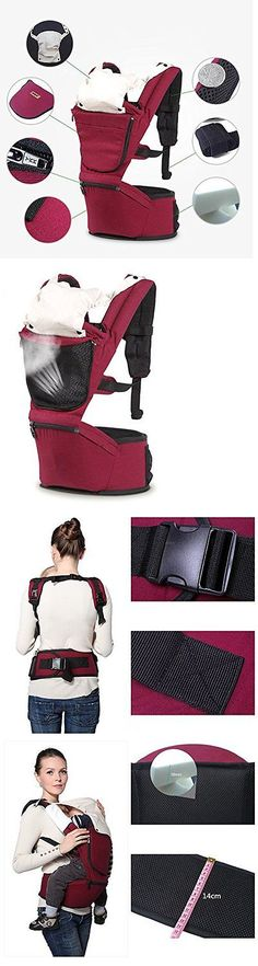 baby and kid stuff: Bingone 3-In-1 Multi-Function Soft Baby Carrier Baby Backpack (Red)...New BUY IT NOW ONLY: $42.29