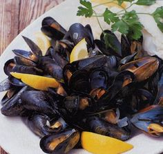 how to cook mussels        Steamed Mussels Recipe  at Epicurious.com
