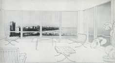 Mies van der Rohe. Arts and Architecture. Mar 1952: 21