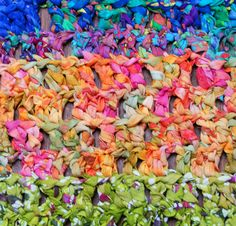 Free Crochet Rag Rug Pattern - rectangular