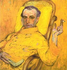 """artistandstudio: """" Frantisek Kupka, self-portrait """""""