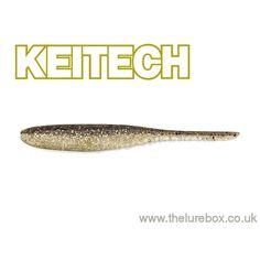 "Keitech Shad Impact 4"" Gold Flash Minnow"