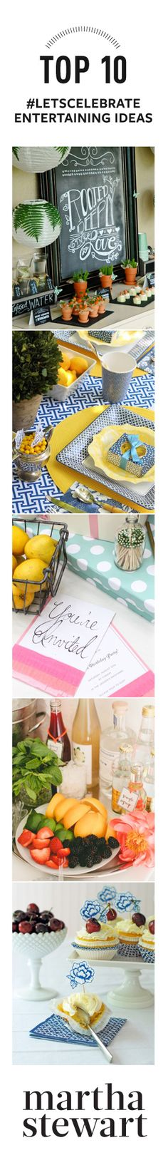 The Top 10 Entertaining Ideas from the #LetsCelebrate Pin Party