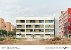 [Collective Housing Atlas] Forum Housing by Gustau Gili Galfetti Atlas, Divider, Spain, Multi Story Building, House, Home, Sevilla Spain, Homes, Room Screen