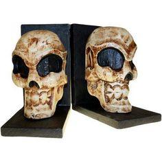 Skull Book Ends (pair)
