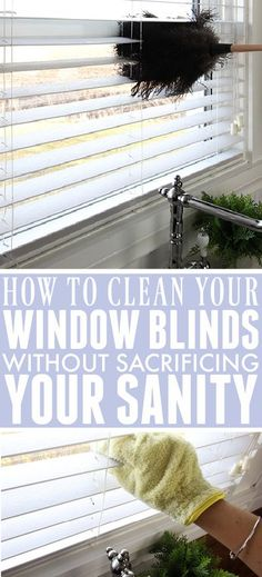 How to Clean Window Blinds | The Creek Line House