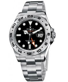 ROLEX EXPLORER II 42mm Quadrante Nero  #rolex #rolexexplorerII #explorer #watch #watches #orologi #sorelleronco