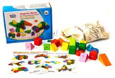 Цветные магнитные блоки, GoGo, арт. 20931, 2554 руб.
