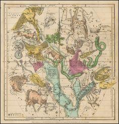 Astronomy print Zodiac constellation Astrology от AstrologyZodiac