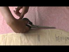 Cutting Out Sleeves. Learn the true secret to cutting out your sewing patterns.  It's all in the bodies mechanics! Let me explain and show you in this easy to follow, step by step sewing video tutorial, ONLY at FashionSewingBlogTV - http://www.youtube.com/watch?v=NdVblvZdT7M