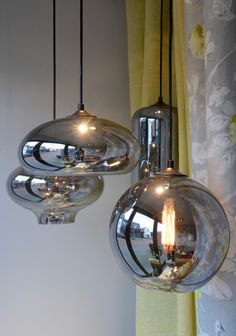 Glazen bollampen By Eve Dining Room Lighting, Home Lighting, Pendant Lighting, Chandelier, Light Decorations, Lanterns, Bulb, Ceiling Lights, Inspiration