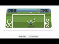 "London 2012 Football (Soccer) Google Doodle  On August 10, 2012, Friday Google is featuring ""Football"" (Soccer) by showing the Doodle ""London 2012 Football"".  This is the 15th Doodle for the London 2012 Summer Olympics. It's an interesting animated doodle.    Read more details and play it at http://qualitypoint.blogspot.in/2012/08/play-football-soccer-on-google-doodle..."