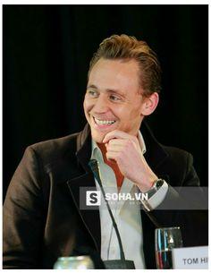 Tom Hiddleston at 'Skull Island' press even, Vietnam