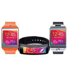 Samsung Gear Fit ™   pedometer/heart rate/watch