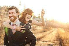 Real Weddings: Rhys & Melissa's Vintage Bohemian Wedding