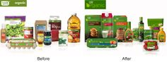 Packaging of the World: Creative Package Design Archive and Gallery: Fresh & Easy Organic (Redesigned)