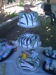 Jungle themed babyshower